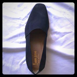 Nero Cuoio Vintage Dress Slipper- Black
